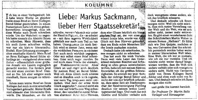 Balle Sackmann